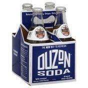 Ouzon Soda, Lightly Sweetened