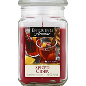 Enticing Aromas Candle, Scented, Spiced Cider