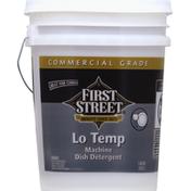 First Street Machine Dish Detergent, Lo Temp