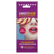Sweetease Waxing Kit, Face, Vanilla, Wrapper