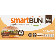 SmartBun Hamburger Buns, Sesame