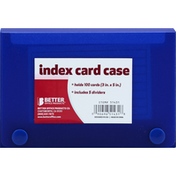 Better Office Products Index Card Case
