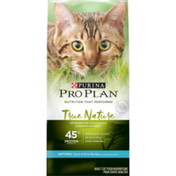 Purina Pro Plan Natural, High Protein Dry Cat Food, TRUE NATURE 45% Protein Formula Natural Trout & Rice Recipe