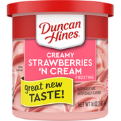 Duncan Hines Frosting, Strawberry N Cream, Creamy