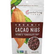 Essential Living Foods Cacao Nibs, Organic