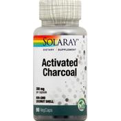 Solaray Activated Charcoal, VegCaps