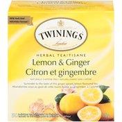 Twinings Lemon & Ginger Herbal Tea