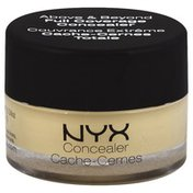 NYX Professional Makeup Concealer, Full Coverage, Yellow CJ10