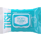 Nice N Clean Wipes, Flushable