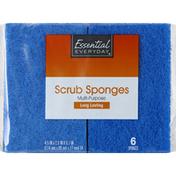 Essential Everyday Scrub Sponge, Multi-Purpose
