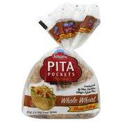 Kangaroo Precut Wheat Pita Pocket Bread