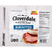 Cloverdale Meats Ham Patties, with Natural Juices