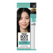 L'Oreal Root Rescue 10 Minute Root Hair Coloring Kit, 2 Black