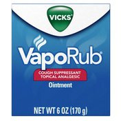 Vicks Cough Suppressant Topical Analgesic Ointment