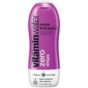 Glaceau Vitaminwater Zero Revive Fruit Punch Vitaminwater Zero Drops