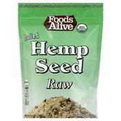 Foods Alive Hemp Seed, Raw, Hulled