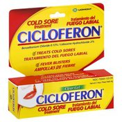 Cicloferon Cold Sore Treatment, Clear Gel