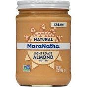 Maranatha No Stir Creamy Natural Light Roast Almond Butter