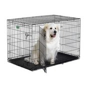 """MidWest Homes for Pets #1548DD 48"""" x 30"""" x 33"""" iCrate Double Door Folding Dog Crates"""