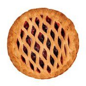 """Specialty Bakers 8"""" Baked Strawberry Rhubarb Pie"""
