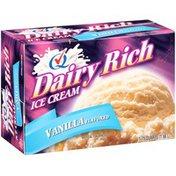 Dairy Rich Ice Cream Dairy Rich Vanilla Caramel Squares