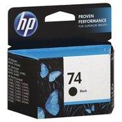 HP Ink Cartridge, Black 74