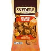 Snyder's of Hanover® Cheddar Cheese Pretzel Sandwiches
