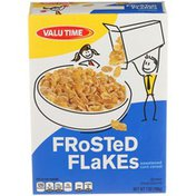 Valu Time Frosted Flakes Sweetened Corn Cereal