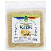 NUCO Coconut Wraps, Turmeric, 5 Pack