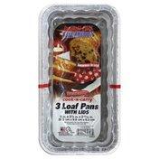 Handi-Foil Loaf Pan, 2 lb