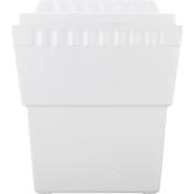 LiFoam Cooler, Styrofoam, White, Double 6 Pack