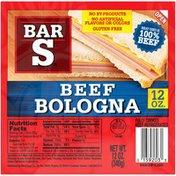 Bar-S Beef Bologna