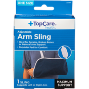TopCare Arm Sling, Maximum Support, Adjustable, One Size