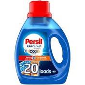 Persil ProClean Liquid Laundry Detergent, Plus OXI Power, 20 Total Loads