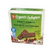 President Choice Organics Fbars Apple Cranberry