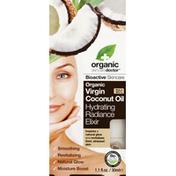 Organic Doctor Hydrating Radiance Elixir, Organic Virgin Coconut Oil