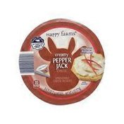 Happy Farms Spicy Pepper Spreadable Cheese Wedges