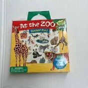Peaceable Kingdom At The Zoo Stickers
