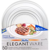 Hefty Plastic Dinner & Dessert Plates