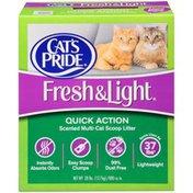 Cat's Pride Fresh & Light Multi-Cat Scoop Cat Litter