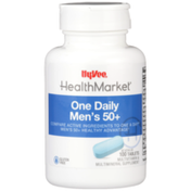 Hy-Vee Healthmarket, One Daily Men'S 50+ Multivitamin & Multimineral Supplement Tablets