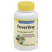 Nature's Answer Feverfew Herb, Vegetarian Capsules