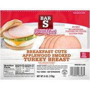 Bar-S Breakfast Cuts Applewood Smoked Turkey Breast