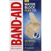 Band-Aid Bandages, Adhesive, Extra Large