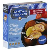 Bantam Pancakes Stuffed Pancakes, Mini, Strawberry Shortstack