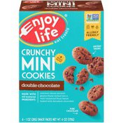 Enjoy Life Foods Double Chocolate Crunchy Mini Cookies