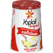 Yoplait Original Yogurt, Low Fat Yogurt, Pina Colada
