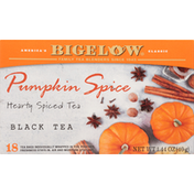 Bigelow Black Tea, Pumpkin Spice, Tea Bags