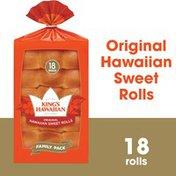 King's Hawaiian Original Hawaiian Sweet Rolls 18PK