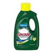 Cascade Complete All-in-1 Gel Dishwasher Detergent, Lemon Burst Scent 75 Oz